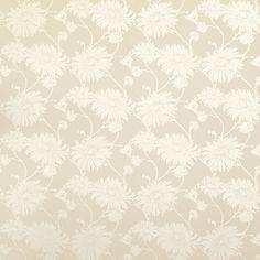 Kimono Linen Floral Wallpaper