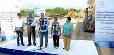 Intensifica gobierno de Canturosas pavimentación en más de 40 colonias