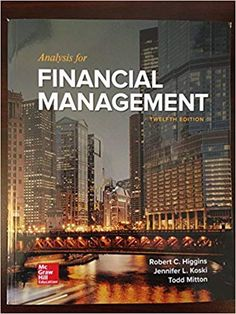 Buy/Rent Discounted Textbook Online of Analysis for Financial Management 12th edition Robert C. Higgins, 978-1259918964 Rent Textbooks, Business Management, Trials, Manual, Study, Free, Quizes, Studio, Textbook