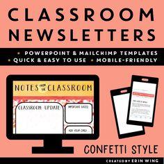 48 Best Classroom Newsletter Templates Images Classroom Newsletter