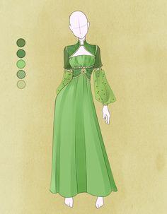 Medieval maiden 4