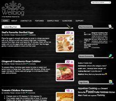 Wellblog Wordpress Theme