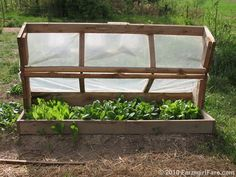 Build an Amish Cold Frame