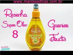 Manias e Dicas: Resenha - Super Óleo 8 Garnier Fructis!