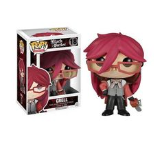 !Pinterest doesn't want to let me comment, so let me add that there is a discussion over whether Greel is male, or is MTF Transgender. Let me just say, it doesn't matter to me! Grell is my second favorite character. Sorry, Grell, we're going to have to compete for Sebby-chan! <3