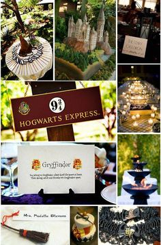 If my fiancé says we can't have a Harry Potter themed wedding- Me: I don't think this is going to work out