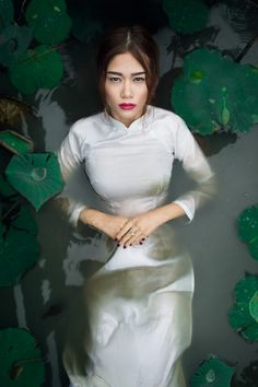 Behind the scenes article: http://attetanner.com/blog/2014/9/26/my-most-remote-fashion-shoot-so-far #fashion #photography #model #water #vietnam #lotus
