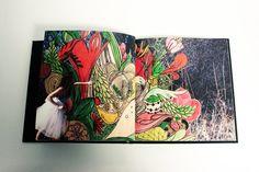 Alice in Wonderland visually interpreted by Samia Kallidis