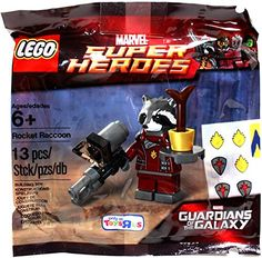 Lego, Guardians of the Galaxy, Exclusive Rocket Raccoon Figure (Bagged) Guardians of the Galaxy http://www.amazon.com/dp/B00PO61612/ref=cm_sw_r_pi_dp_1WpGub1JZRR00