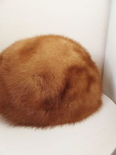 Vintage Fur Hat Cloche Mink Ladies Hat Winter Fashion Hat with combs attached Deborah Exclusive Hat by BlendedSplendid on Etsy
