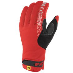 Guanti Mavic Inferno Thermo - Rosso - All4Cycling