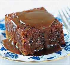 Sticky Toffee Pudding..... A favorite family dessert  secret recipe - Coming soon to dessertstolove.com