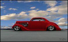 Viper-Powered 1936 Dodge Custom Hot Rod. Awesome American Street Machine!