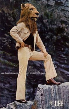 """Lee Flared Jeans """"can change your image"""", circa '70's"""