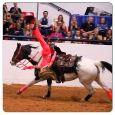 Horses fitness, Leah Self trick riding, Stunt Rider for Cowgirls N Angels. Member of the Dynamite Dames go like them on FB and check out their website to get their schedule www.dynamitedames.com