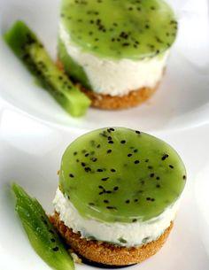 Unique Desserts | Must try this unique dessert: Kiwi Cheesecake