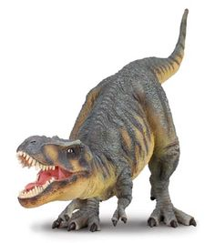 A review by Everything Dinosaur of the 1:40 scale T. rex model by Everything Dinosaur, part of the Collecta scale model dinosaur series.