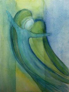 'Engel 28' von Anita Gewald bei artflakes.com als Poster oder Kunstdruck $18.03