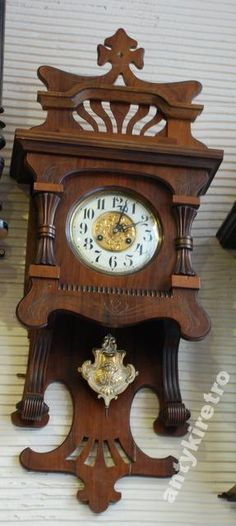 Antique Vintage Zaanse Dutch Wall Clock Zaandam Atlas 8