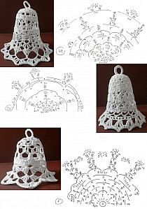 Crochet Snowflake Pattern, Christmas Crochet Patterns, Crochet Snowflakes, Holiday Crochet, Christmas Knitting, Crochet Doilies, Crochet Christmas Decorations, Crochet Ornaments, Crochet Decoration