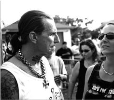 Indian Larry@  2003 Daytona Bike Week !!!