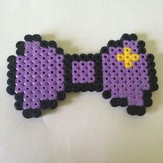 LSP Adventure Time bow hama beads by yanniefacee