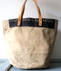 + #canvas #tote #leather