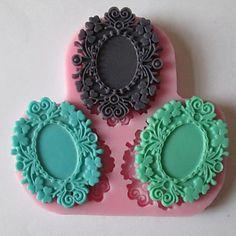 Three Flower Baking Fondant Cake Chocolate Candy Mold,L9cm*W9cm*H1cm – USD $ 4.99