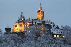 The Wernigerode Castle in Gotha, Germany