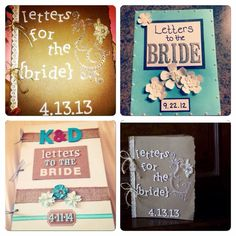 15 Best Letters To The Bride Images Gifts For The Bride Letters