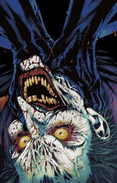 Pra tentar dar mais vida ao herói que já tem 75 anos de histórias publicadas, o tumblr Made By ABVH resolveu animar algumas capas clássicas das hqs do Homem Morcego. Em movimento, tudo fica ainda mais sombrio na vida do Batman. Principalmente quando o Coringa é a estrela de capa… — The Dark Knight Returns …