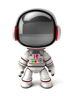 Space suit by tammi #3D #characters