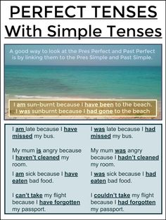 #tefl #tesol #grammar #learnenglish AskPaulEnglish: PERFECT TENSES Linked to Simple Tenses
