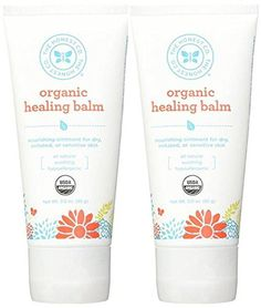 The Honest Company Healing Balm Organic sunflower olive and coconut oils work with enriching Shea butter to nourish moisturize and help protect sensitive and irritated skin Tamanu oil helps ease i...