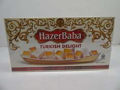 Hazer Baba Turkish Delight Traditional Gum Mastic Taste 16oz 454 g >>> Click image to review more details.