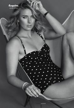 Maria Sharapova - Esquire 2015