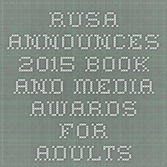 2015 Reading List announced: Year's best in genre fiction for adult readers, announced by RUSA