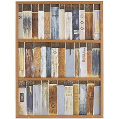 Pier 1 Imports Multi-colored Book Shelf Art (19.590 RUB) ❤ liked on Polyvore featuring home, home decor, wall art, multicolor, colorful home decor, pier 1 imports, colorful wall art and colorful paintings