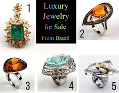 Luxury jewelry for sale - From Brazil