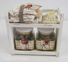 More adorable shabby storage