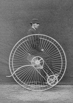 vintage everyday: Early Bicycles – 14 Interesting Vintage Photos of Bicycles from between the 1850s and 1890s