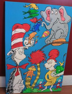 List Of Dr. Seuss Characters   Dr. Seuss Character Mural