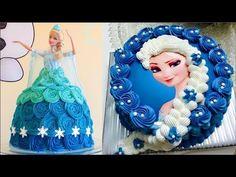 Top 10 Amazing Disney Princess Cake Decorating Compilation & Cake Style 2017 - Satisfying Cake Video - YouTube