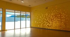 Beautifully designed yoga studio in Boulder Colorado