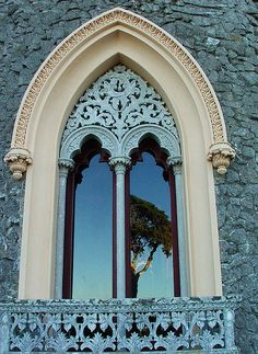 Beautiful Window surround in Portugal photo by Maria Oliveira via Flickr