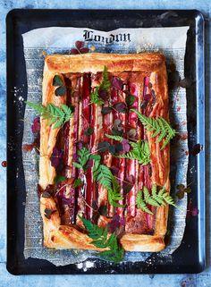 Rhubarb Mazarin Pie Recipe