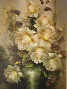 jeanette dykman artist - Google Search Rose Oil Painting, Creative, Artist, Flowers, Art Ideas, Google Search, Roses, Artists, Royal Icing Flowers