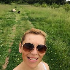 Walking the pooches on a beautiful afternoon. #peace #studley #relaxitstheweekend #auntienatnat