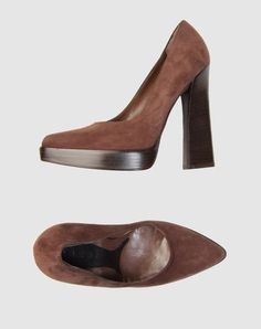 Marni Platform Pumps @ YOOX - $145. I'm really into this silhouette of shoe.  The heel is wonderful.  I fell in love with a shoe like it designed by Miuccia Prada.