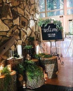 Beautiful Rustic Chic Lake Arrowhead Wedding.